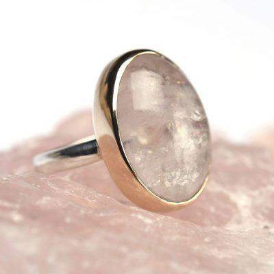 morganiet goud zilver rosegoud