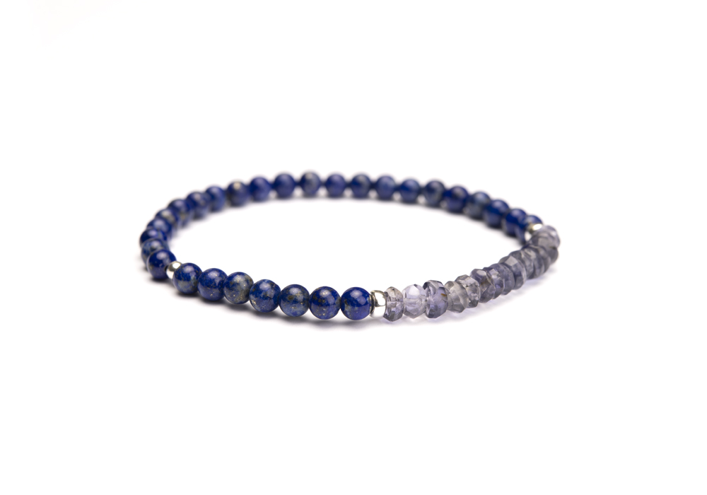 Armband Lapis Lazuli & Ioliet