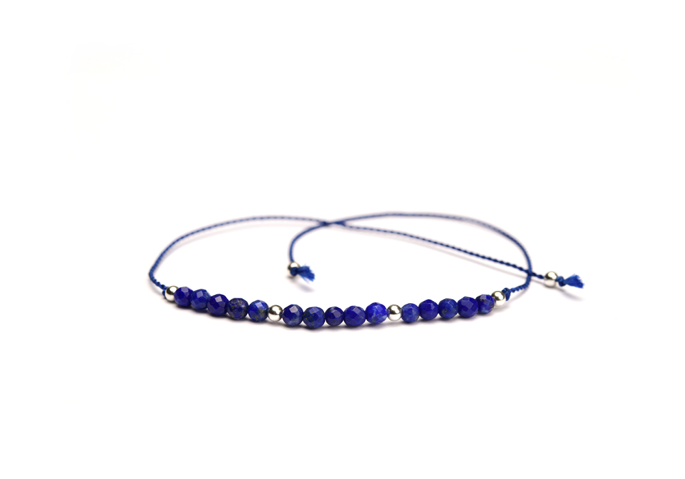 Armband Motivational Knot LAPIS LAZULI