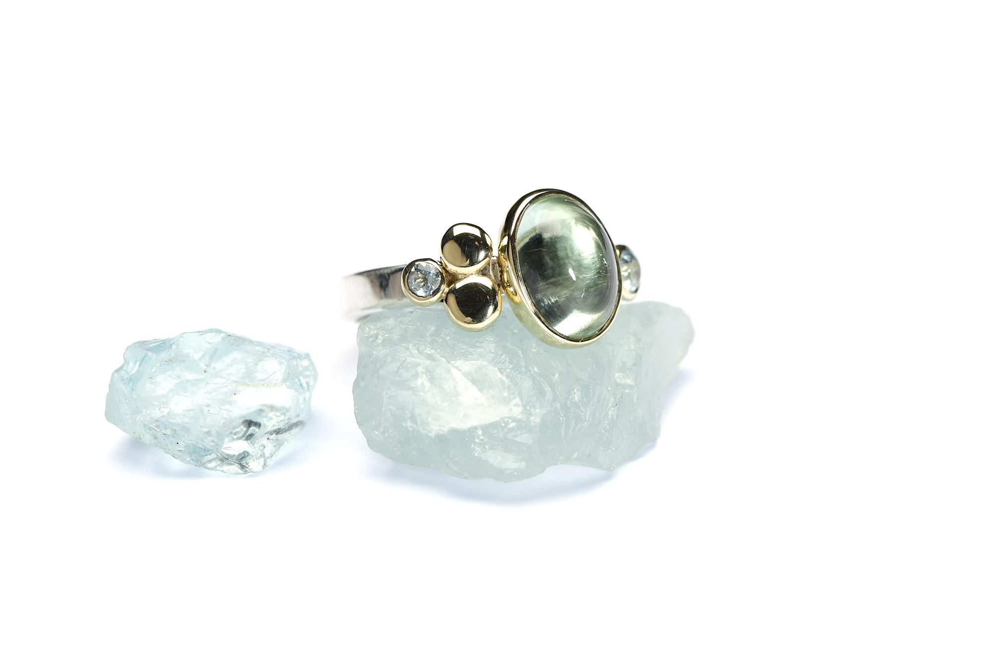 Ring Zilver & Goud ELFEA